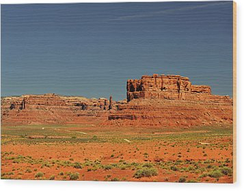 Valley Of The Gods - See What The Gods See Wood Print by Christine Till