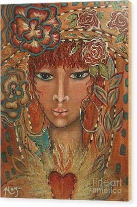Valor Wood Print by Maya Telford