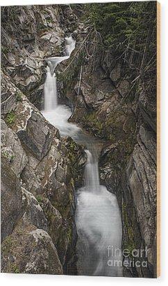 Van Trump Creek Wood Print by Sharon Seaward