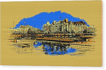 Vancouver Art 001 Wood Print by Catf