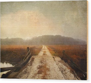 Wood Print featuring the photograph Vanishing Point by Karen Lynch