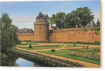 Wood Print featuring the photograph Vannes In Brittany France by Dave Mills