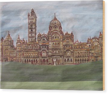 Wood Print featuring the painting Varadara by Vikram Singh