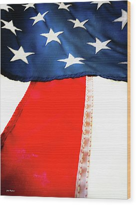 Variations On Old Glory No.1 Wood Print by John Pagliuca