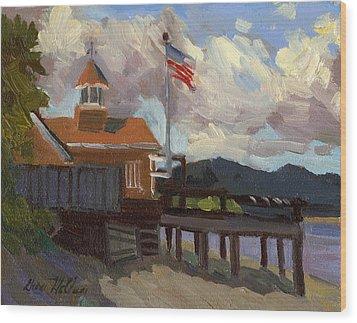 Vashon Island 4th Of July Wood Print by Diane McClary