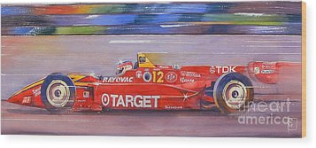 Vasser Wood Print by Robert Hooper