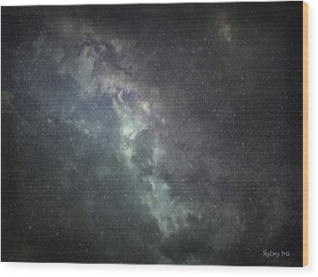Vast Universe Wood Print by Cynthia Lassiter