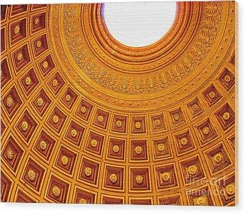 Vatican Mount Wood Print