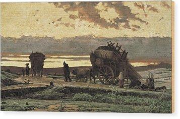Vayreda I Vila, Joaquim 1843-1894 Wood Print by Everett