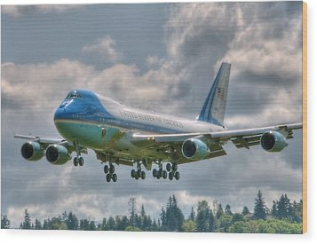 Vc25 - Air Force One  Wood Print