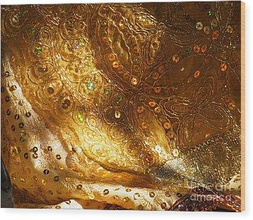 Veil Of The Bride Wood Print