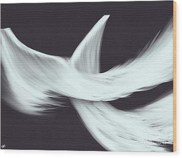 Veil Wood Print by Roxy Riou