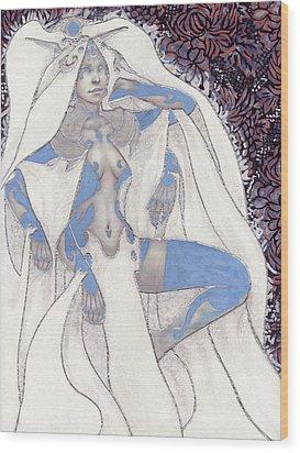 Vela Wood Print