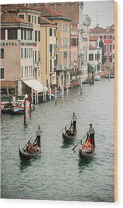 Wood Print featuring the photograph Venice by Silvia Bruno