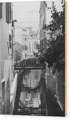 Venetian Reflections Wood Print by Dorothy Berry-Lound