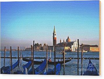 Venezia City Of Islands Wood Print
