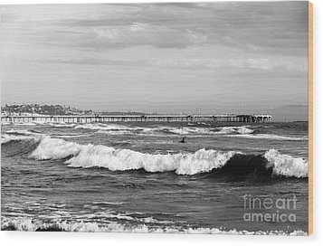 Venice Beach Waves IIi Wood Print by John Rizzuto