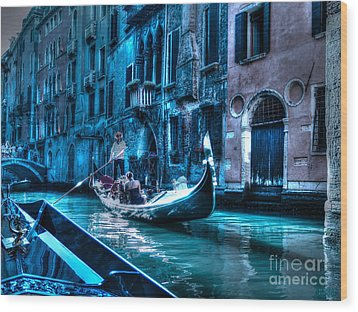 Wood Print featuring the photograph Venice Dream by Hanza Turgul