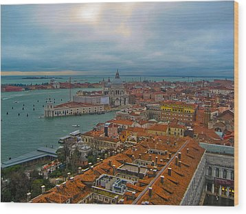 Venice Overlook Wood Print