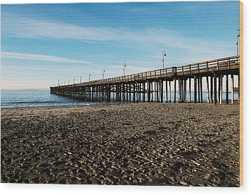 Ventura Beach Pier Wood Print