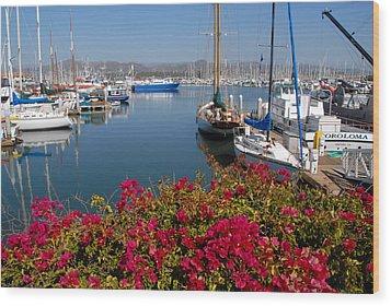 Ventura Harbor Wood Print
