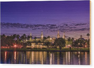 Venus Over The Minarets Wood Print by Marvin Spates