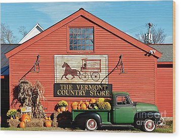Vermont Country Store Wood Print by John Greim