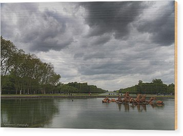 Wood Print featuring the photograph Versailles Storm by Ross Henton