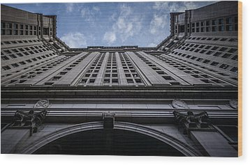 Vertigo Wood Print