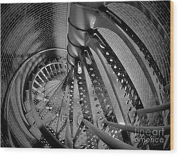 Vertigo Wood Print by Mark Miller