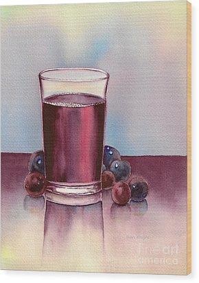 Very  Berry Wood Print by Nan Wright