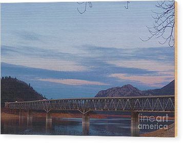 V.f.w. Memorial Bridge Wood Print by Joshua Greeson