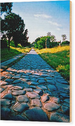 Via Appia Antica - Rome Wood Print