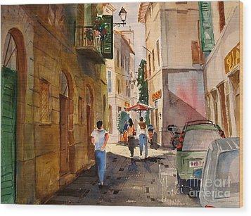 Via Della Lungarina Wood Print
