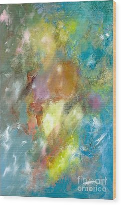 Vibrant Sky Wood Print by Jason Stephen