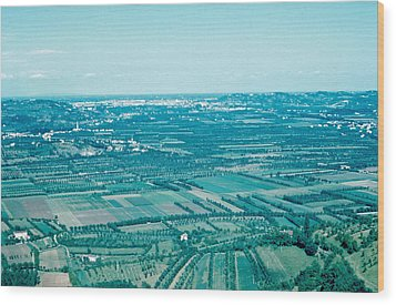 Vicenza Italy 1962  Wood Print by Cumberland Warden