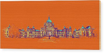 Victoria Art 006 Wood Print by Catf
