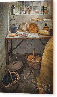 Victorian Bakers Wood Print by Adrian Evans