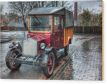 Victorian Car Replica  Wood Print by Adrian Evans