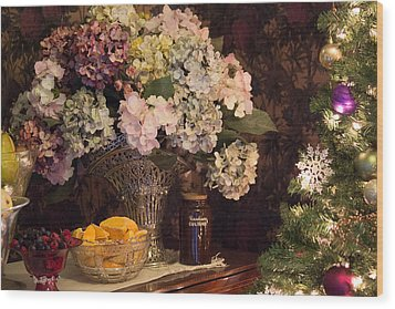 Victorian Christmas Wood Print
