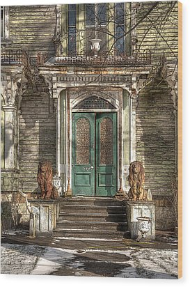 Victorian Entry Wood Print