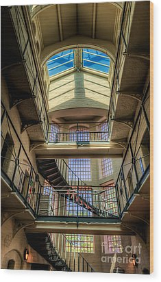 Victorian Jail Wood Print by Adrian Evans