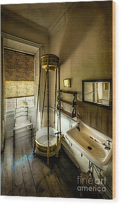 Victorian Shower Wood Print by Adrian Evans