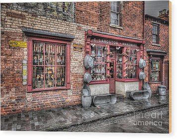Victorian Stores England Wood Print by Adrian Evans