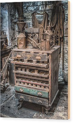 Victorian Workshop Wood Print by Adrian Evans