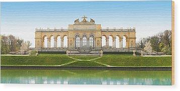 Vienna - Gloriette - Schoenbrunn Wood Print by Marc Huebner