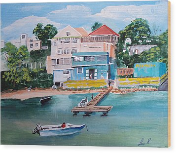 Vieques Puerto Rico Wood Print