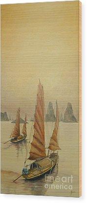 Vietnam Wood Print