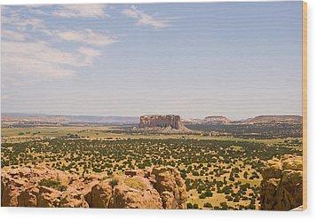 View From Acoma Mesa Wood Print