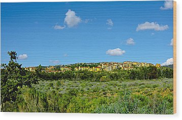 Wood Print featuring the photograph View From Crystal Cove by Joseph Hollingsworth